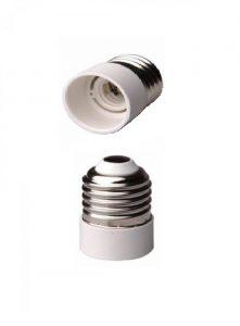برای بستن لامپ شمعی به جای لامپ معمولی استفاده می شود .