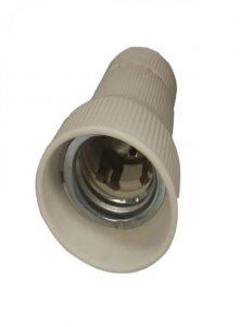 جنس این سرپیچ ها سرامیکی می باشد و برای لامپهای صنعتی (گازی ، خیاری ، E40 ) کاربرد دارد .